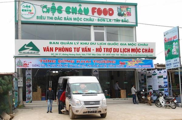 Giảm giá đến 10% và bốc thăm trúng thưởng tại Siêu thị đặc sản Mộc Châu Food,